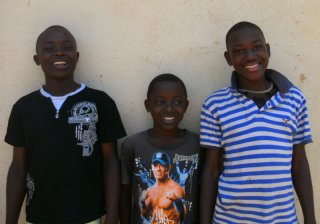 Jumar, Meddy und Shaban